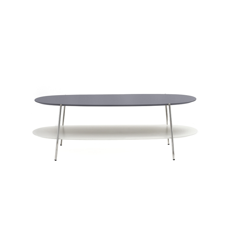 Table basse Coedition SHIKA L 110 piètement chrome