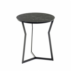 Table d'appoint guéridon STAR Marquina COEDITION