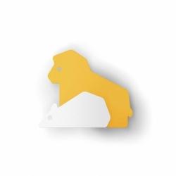 Jouet & accessoires Patère LA FONTAINE Le Lion et le Rat ENO STUDIO