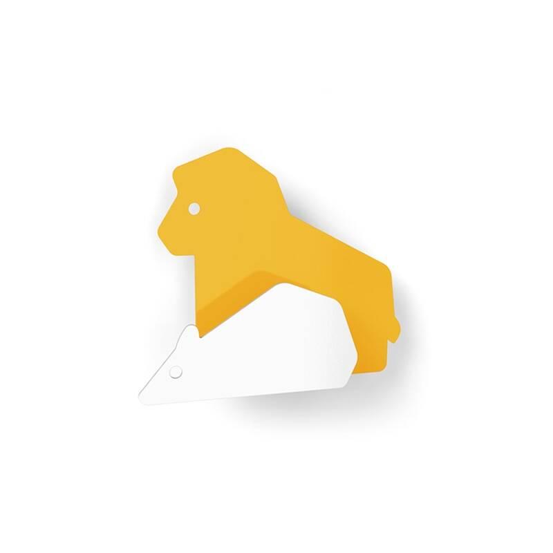 Patère LA FONTAINE Le Lion et le Rat