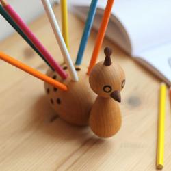 Jouet & accessoires Eo - elements optimal Porte-crayons PEACOCK