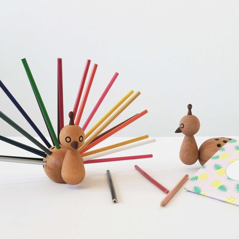 Porte-crayons PEACOCK