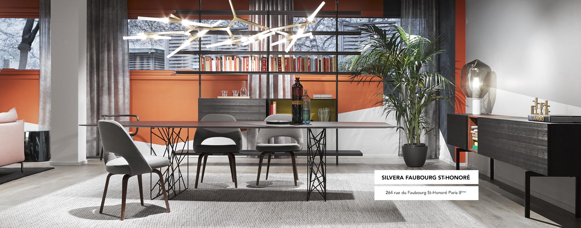 Silvera meubles design et contemporain luminaire mobilier de bureau pour professionnels - Location de meubles design ...