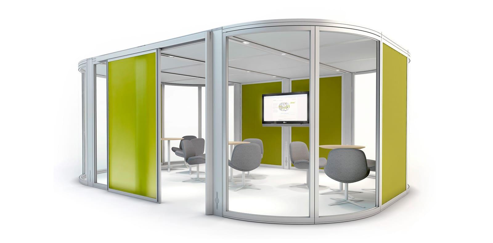hush phone booth mikomax box d 39 change silvera. Black Bedroom Furniture Sets. Home Design Ideas